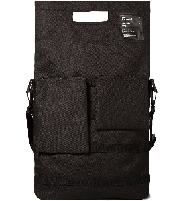 "Black 13"" Shoulder Bag"