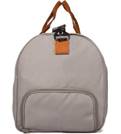 Herschel Supply Co. Grey/Tan Novel Duffle Model Picutre