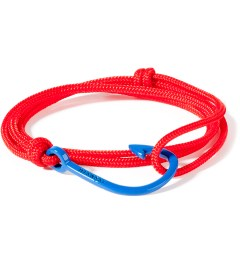 Miansai Solid Red Blue Hook Rope Bracelet Picutre