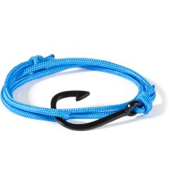 Miansai Solid Blue Black Hook Rope Bracelet Picutre