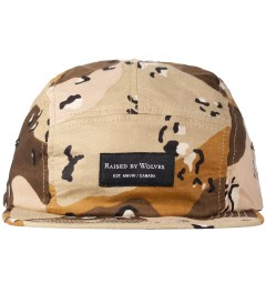 Raised by Wolves Full Desert Camo Algonquin 5-Panel Cap Picutre