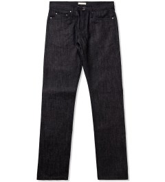 The Unbranded Brand UB104 Skinny Fit Black Selvedge Picutre