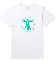 Hombre Nino White Print T-Shirt Picutre
