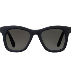 KOMONO Midnight Blue Rubber Allen Sunglasses Picutre