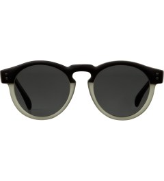 KOMONO Black/Green Clement Sunglasses Picutre