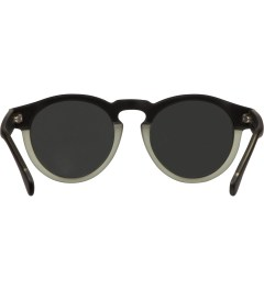 KOMONO Black/Green Clement Sunglasses Model Picutre