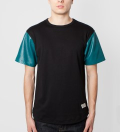 Mister Turquoise Hide T-Shirt Model Picutre