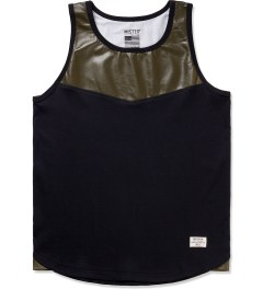 Mister Army Perforated Hide Tank Top  Picutre