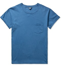 UNUSED Indigo Dye Smoke Blue T-Shirt Picutre