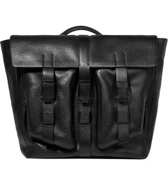 3.1 Phillip Lim Black Journey Flap Messenger Picutre