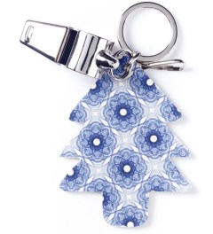 Carven Royal Blu Portcle Sifflet Whistle Key Ring Picutre
