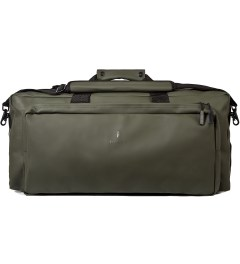 RAINS Green Duffle Bag Picutre