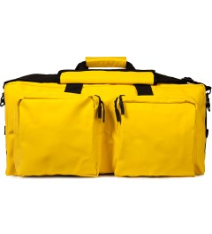 RAINS Yellow Duffle Bag Picutre