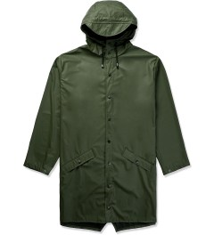 RAINS Army Green Long Jacket Picutre