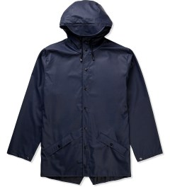 RAINS Blue Jacket Picutre