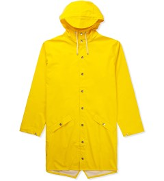 RAINS Yellow Long Jacket Picutre