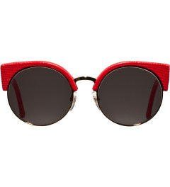 SUPER BY RETROSUPERFUTURE Red Lizard Illaria Sunglasses Picutre