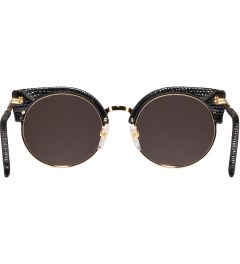 SUPER BY RETROSUPERFUTURE Black Lizard Sunglasses Model Picutre