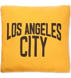 SECOND LAB Yellow Los Angeles City Pillow Picutre