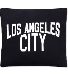 SECOND LAB Black Los Angeles City Pillow Picutre