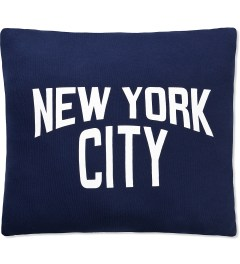SECOND LAB Navy New York City Pillow Picutre