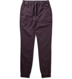 ZANEROBE Black Sureshot Drawstring Chino Pants Picutre
