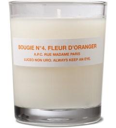 A.P.C. Bougie n°4 Fleur D'Oranger A.P.C Candle  Picutre