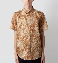 Acapulco Gold Khaki Camo Disruptive Button Down Model Picutre