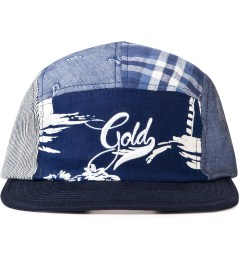 Acapulco Gold Navy Visor Patchogue Multi-Panel Camp Cap Picutre