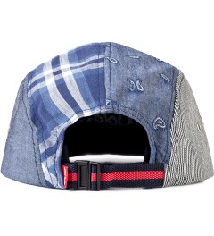 Acapulco Gold Navy Visor Patchogue Multi-Panel Camp Cap Model Picutre
