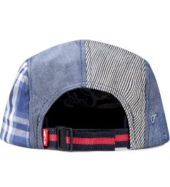 Acapulco Gold Red Visor Patchogue Multi-Panel Camp Cap Model Picutre