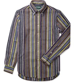 Gitman Bros. Vintage Multi Color Pattern Button Down Shirt Picutre