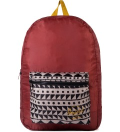 Herschel Supply Co. Rust/Chevron Black/Butternut Packable Daypack Picutre