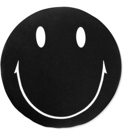 SECOND LAB Black Smile Cushion Picutre