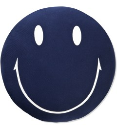 SECOND LAB Navy Smile Cushion Picutre