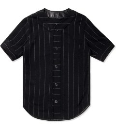 clothsurgeon Black M.F.Y Wool Baseball Jersey Picutre