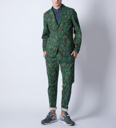 Garbstore Green Rydal Sports Jacket Model Picutre