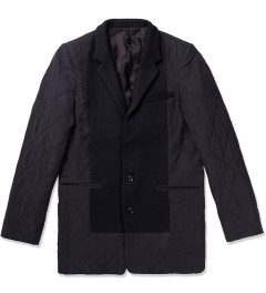 Munsoo Kwon Black Two Button Quilted Jacket  Picutre