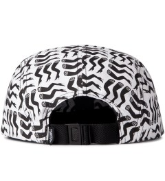 Rockwell by Parra Black On White Lots Of Legs Camp Hat  Model Picutre