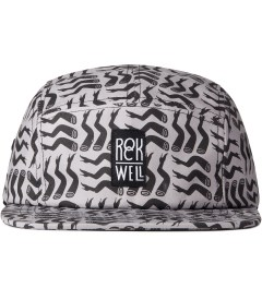 Rockwell by Parra Black On Dark Grey Lots Of Legs Camp Cap  Picutre