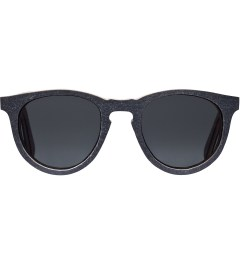 Shwood Black Slate Grey Polarized Belmont Sunglasses Picutre