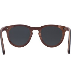 Shwood Black Slate Grey Polarized Belmont Sunglasses Model Picutre
