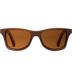 Shwood Oak Brown Polarized Canby Sunglasses Picutre