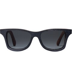 Shwood Black Slate Grey Polarized Canby Sunglasses Picutre