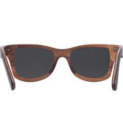 Shwood Black Slate Grey Polarized Canby Sunglasses Model Picutre