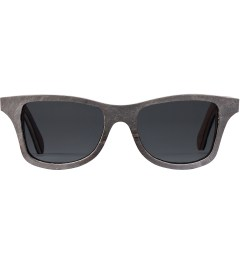 Shwood White Slate Grey Polarized Canby Sunglasses Picutre