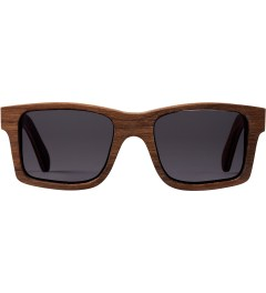 Shwood Walnut Grey Haystack Sunglasses Picutre