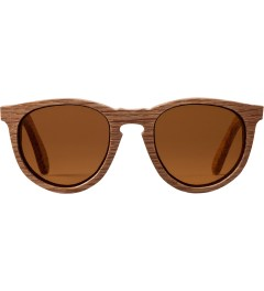 Shwood Oak Brown Polarized Belmont Sunglasses Picutre
