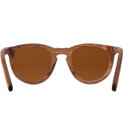 Shwood Oak Brown Polarized Belmont Sunglasses Model Picutre