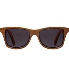 Shwood Grey Dark Walnut Canby Sunglasses Picutre